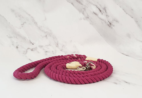 Collared Creatures Berry Ombre Dip Dyed Dog lead