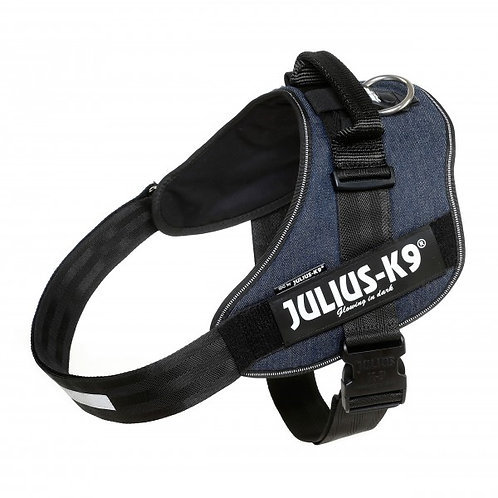 Julius K9 IDC Powerharness - Blue Denim