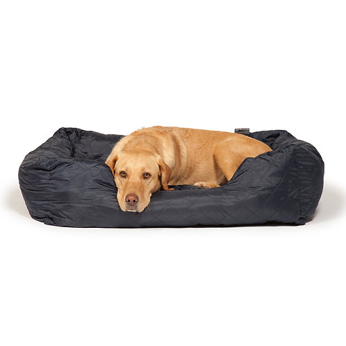 Danish Design Navy Quilted Snuggle Bed
