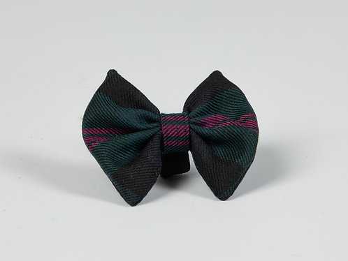 Collared Creatures Baird Modern Tartan Luxury Dog Bow Tie