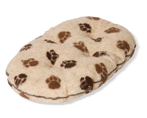 Danish Design Sherpa Fleece Beige Quilted Mattress Bed