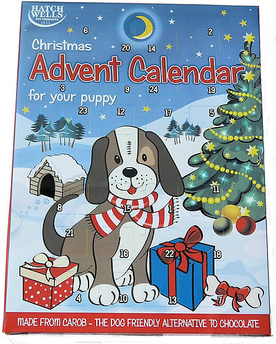 Hatchwells Carob + Calcium Advent Calendar For Puppys