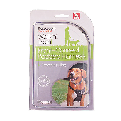 Coastal Pet Walk Right!® Front-Connect Padded Dog Harness Large