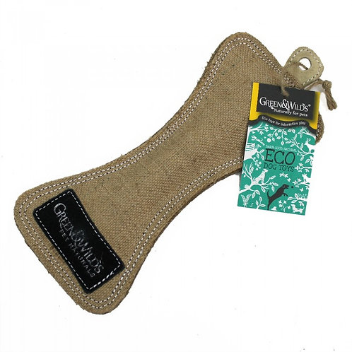 Green & Wilds Eco Dog Toy - Funny Bone