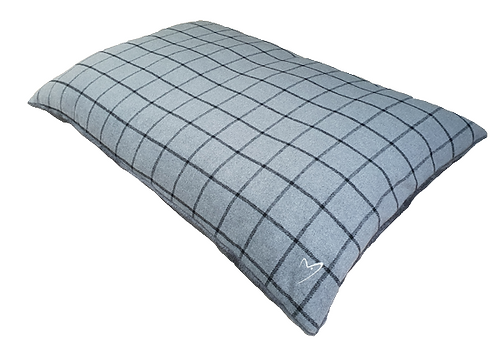 Gor Pets Premium Comfy Cushion - Grey Check