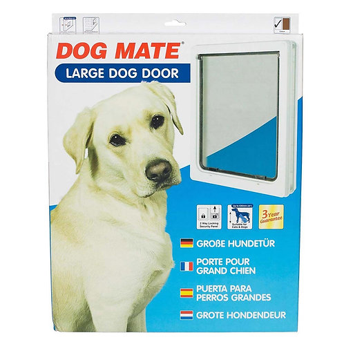 Pet Mate Large Dog Door - White