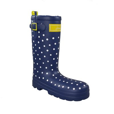 Joules Rubber Welly Dog Toy - Spotty