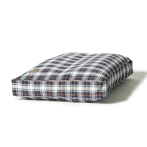 Danish Design Lumberjack Box Duvet Beds - White/Navy