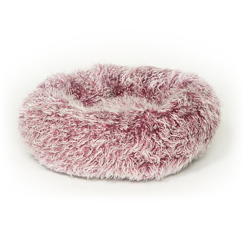 Danish Design Fluffies Cushion Pet Bed - Purple