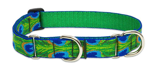 Lupine Originals Martingale/Combo Collar -Tail Feathers