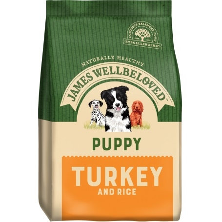 James Wellbeloved Turkey and Rice Puppy 15kg