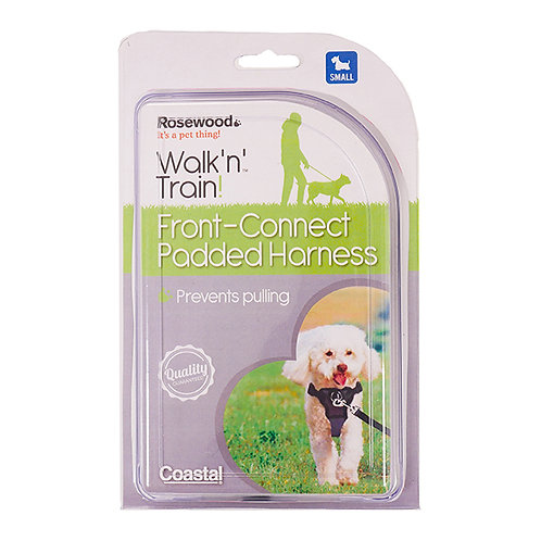Coastal Pet Walk Right!® Front-Connect Padded Dog Harness Small