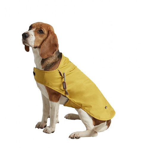 Joules Mustard Dog Raincoat - Small