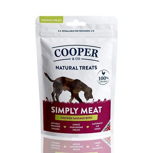 Cooper & Co Chicken Sausage Bites - Training Treats 100g