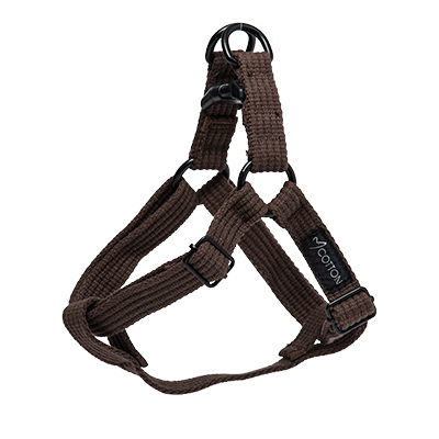 Gor Pets Cotton Harness Small Brown