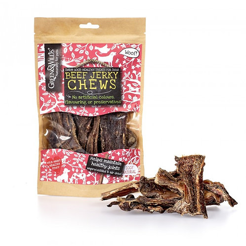 Green & Wilds Beef Jerky Chews 100g