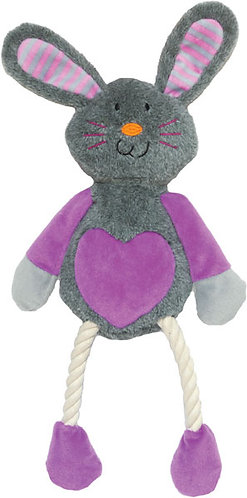 Rosewood Mister Twister Ruby Rabbit Toy
