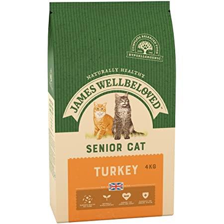 James Wellbeloved Cat Food Turkey and Rice Senior 4kg