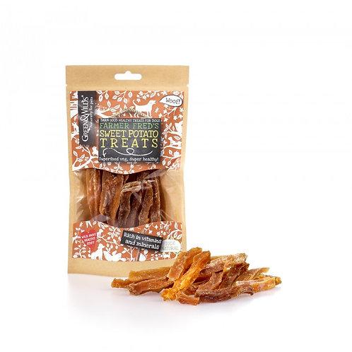 Green & Wilds Sweet Potato Treats 100g