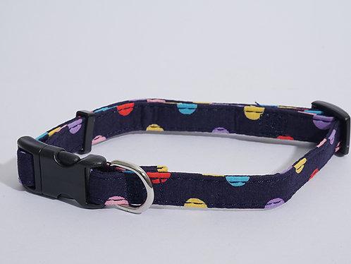 Rosewood Wag 'N' Walk Multi Spot Collar