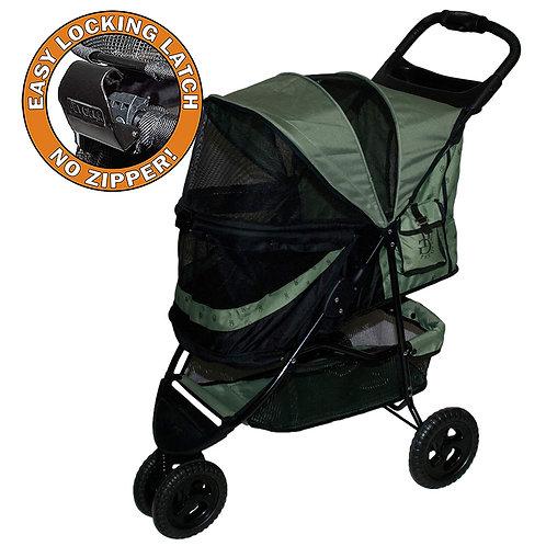 Pet Gear No-Zip Special Edition Stroller, Sage Green