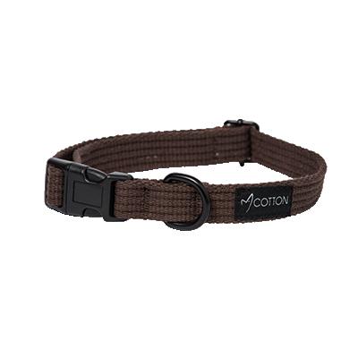 Gor Pets Gor Cotton Dog Collar Medium Brown