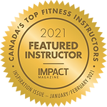 IMPACT Magazine Top Fitness Instructor -