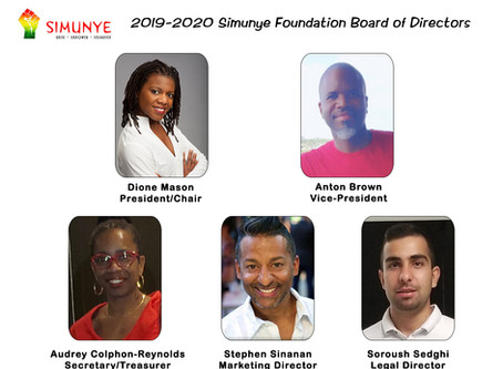 2019-2020 Simunye Foundation Board of Directors