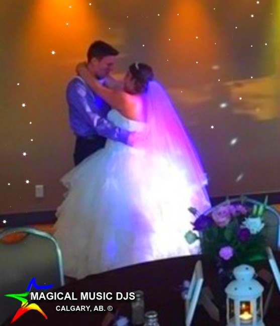 wedding Magical Music DJ services Calgar