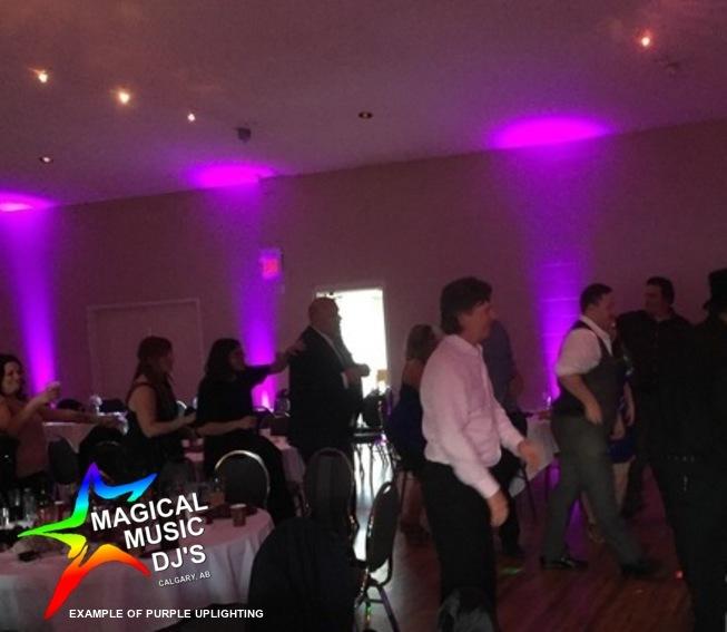 WEDDING UPLIGHTING Magical Music DJ serv
