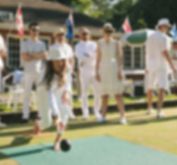 Aritizia staff enjoy their annual lawn bowling soiree at the Dunbar Lawn Bowling Club