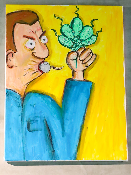 Sour Mouth, Ganja Mouse — by Dave Dtore