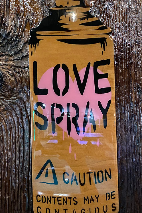 Love Spray (Woodcut) - Con$umer