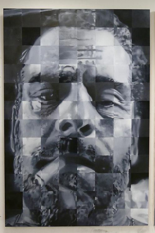 Portrait of a Man with Cigarette