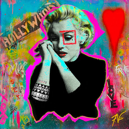 Norma Jean (Marilyn Monroe) - Frankie Vinci
