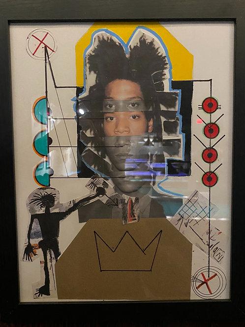 Jean-Michel Basquiat - Shadow Sees