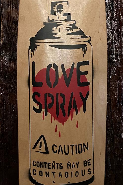 Love Spray (Skate Deck) - Con$umer