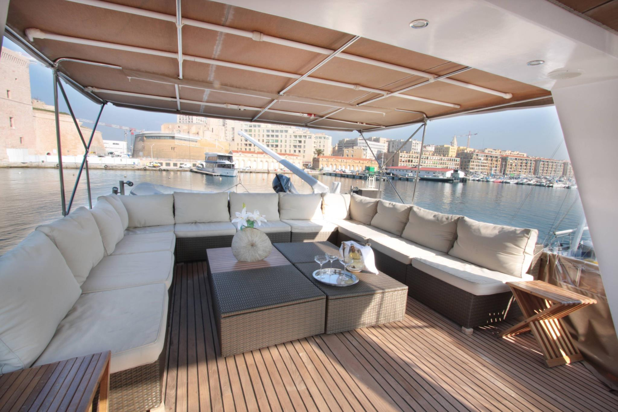 Location du yacht