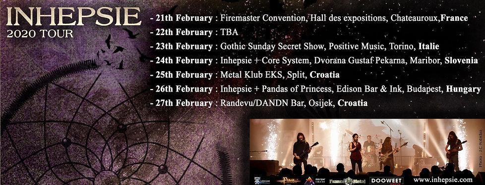 Inhepsie 2020 Tour
