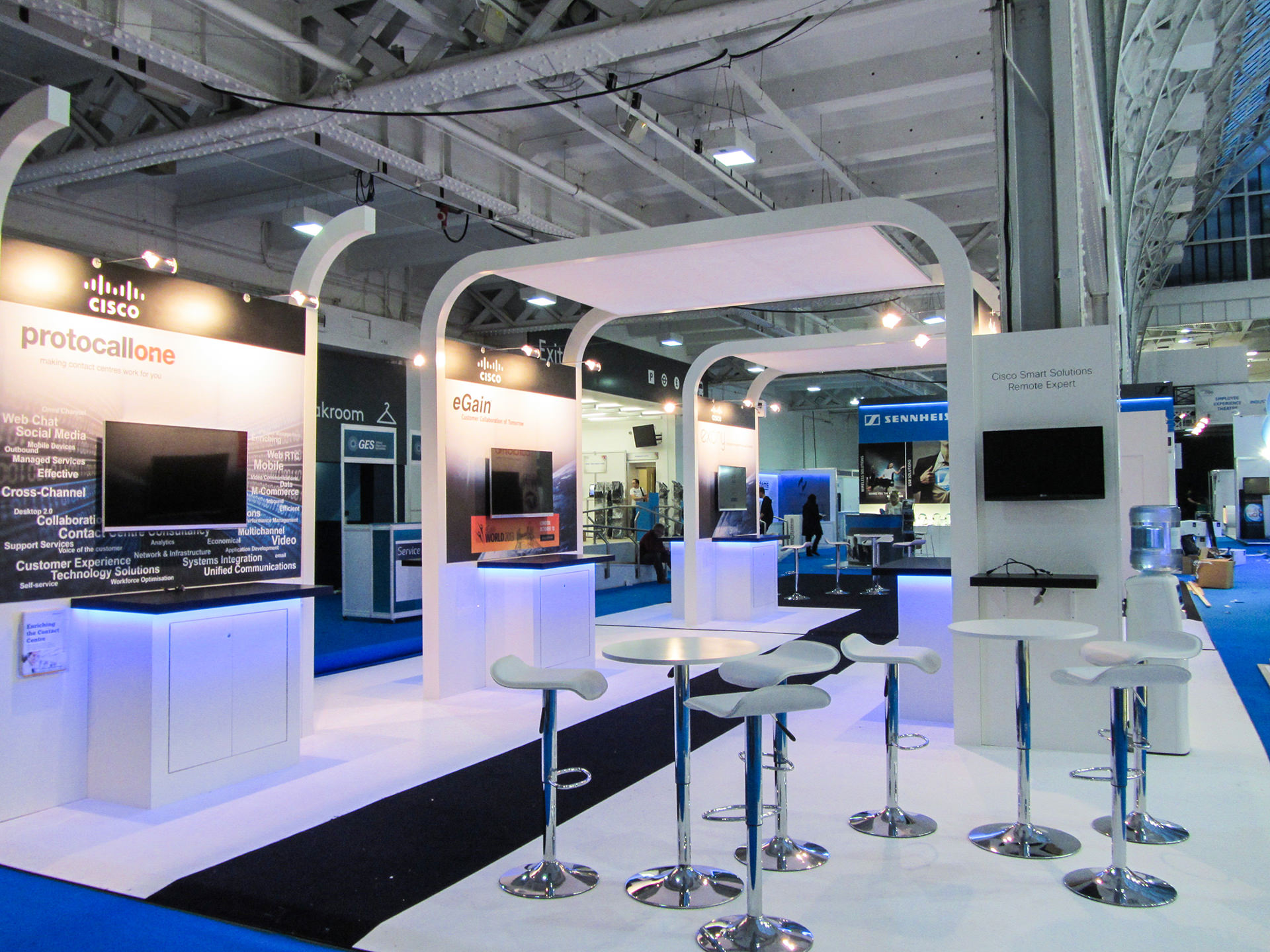 Cisco Exhibition Stand