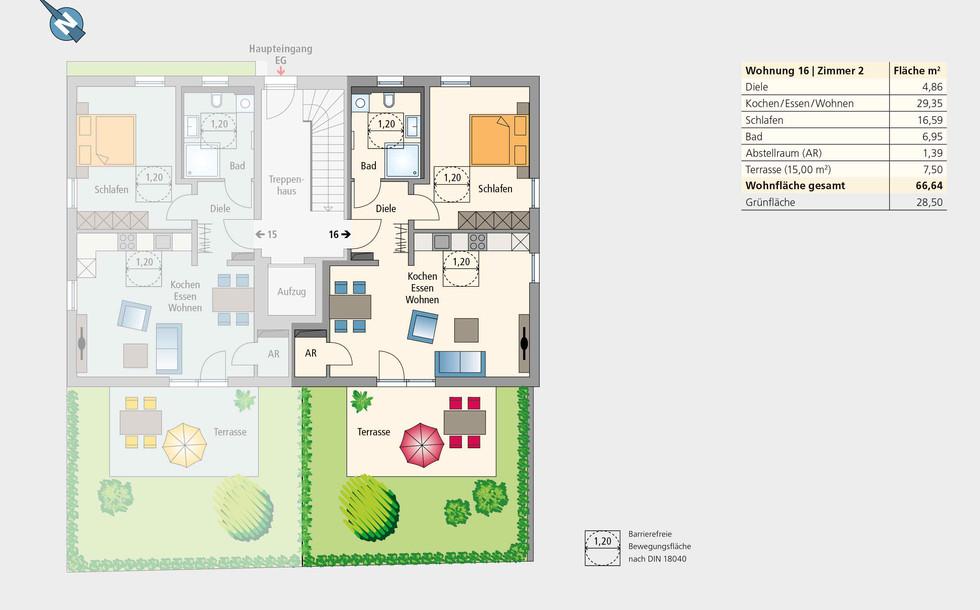 Wohnung 16 | Erdgeschoss