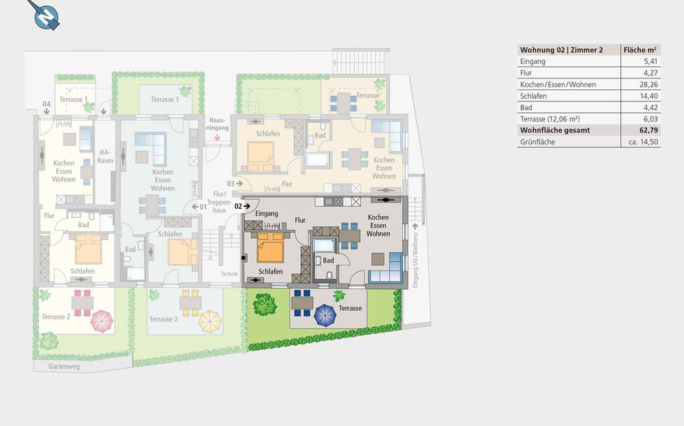 Wohnung 02 | Erdgeschoss