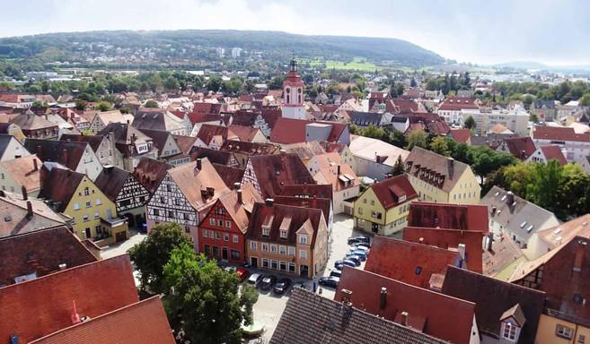 Altstadt Weißenburg in Bayern