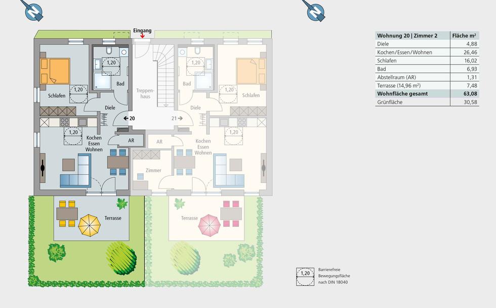 Wohnung 20 | Erdgeschoss