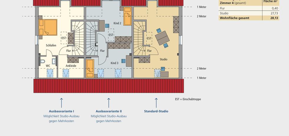 Wohnung 13   Dachgeschoss