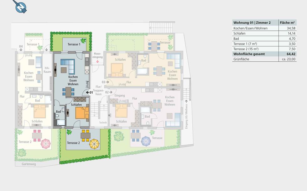 Wohnung 01 | Erdgeschoss