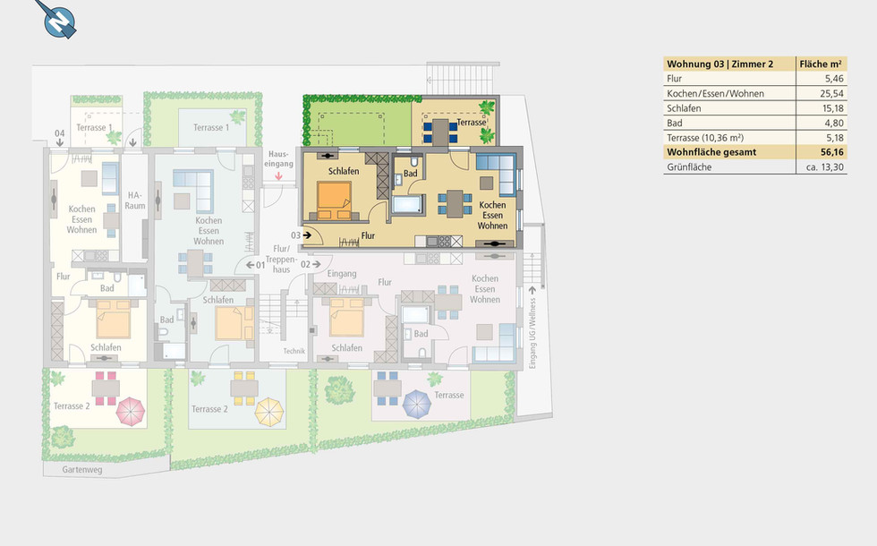 Wohnung 03 | Erdgeschoss
