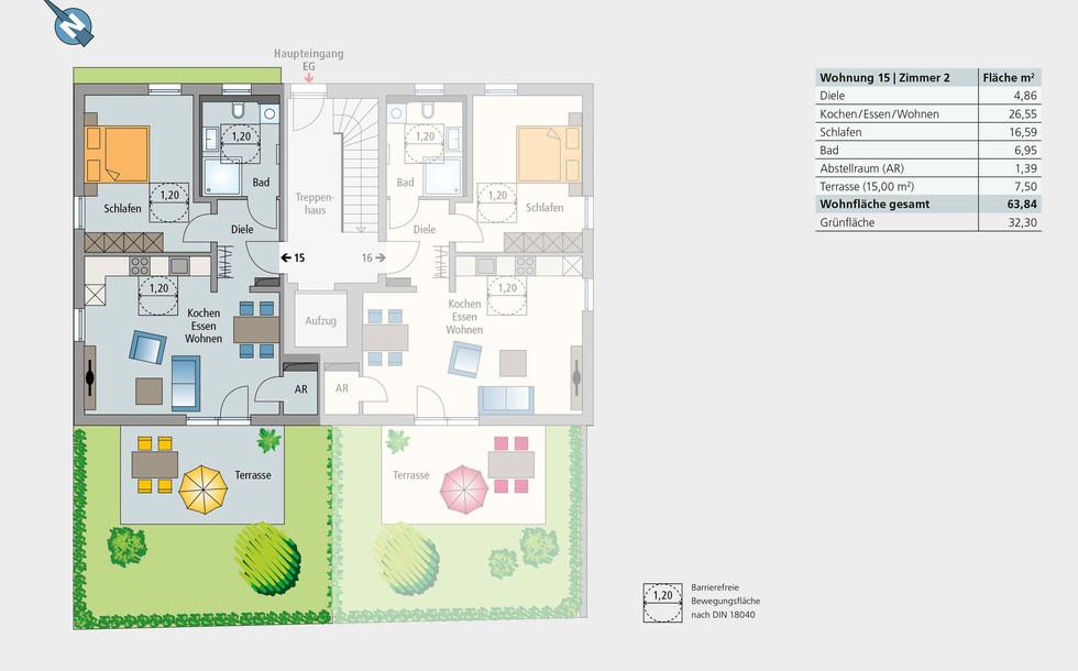 Wohnung 15 | Erdgeschoss