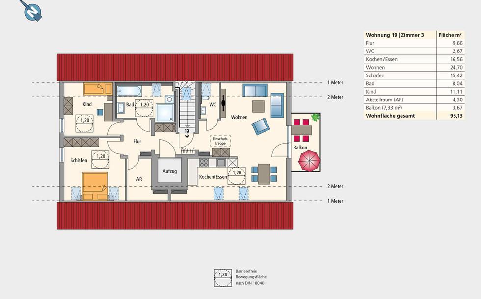 Wohnung 19 | Dachgeschoss