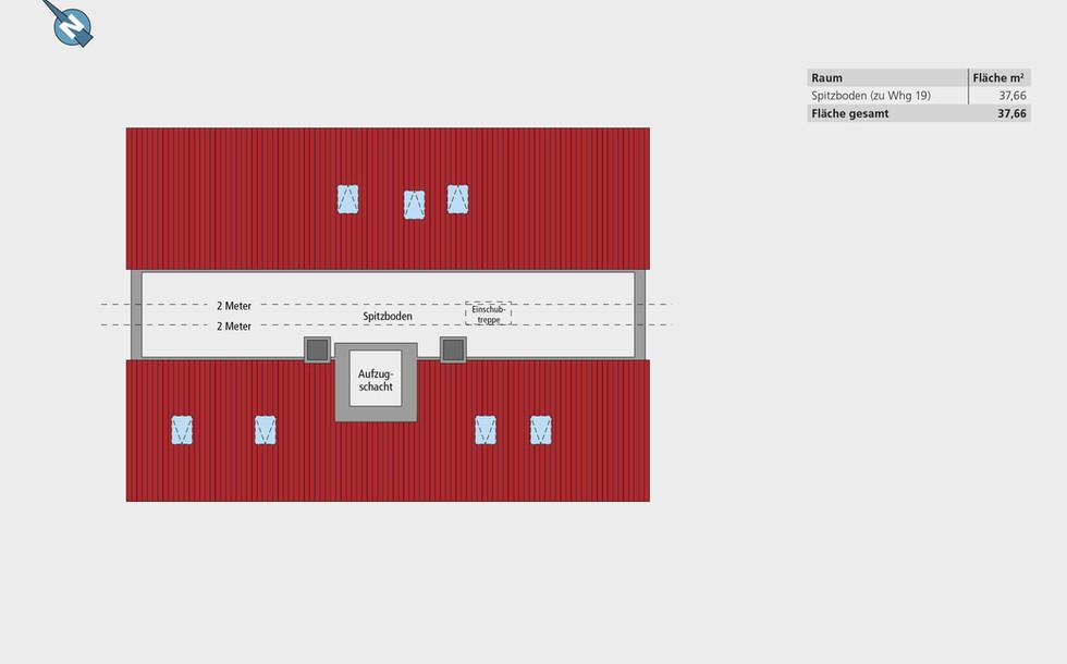 Wohnung 19 | Spitzboden